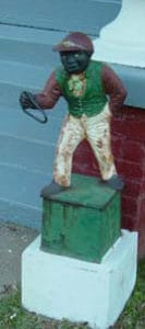 Jocko Graves lawn statue