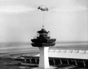The construction of Dulles Airport