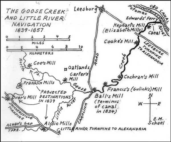 Goose Creek Canal An Illfated Project History of Loudoun County
