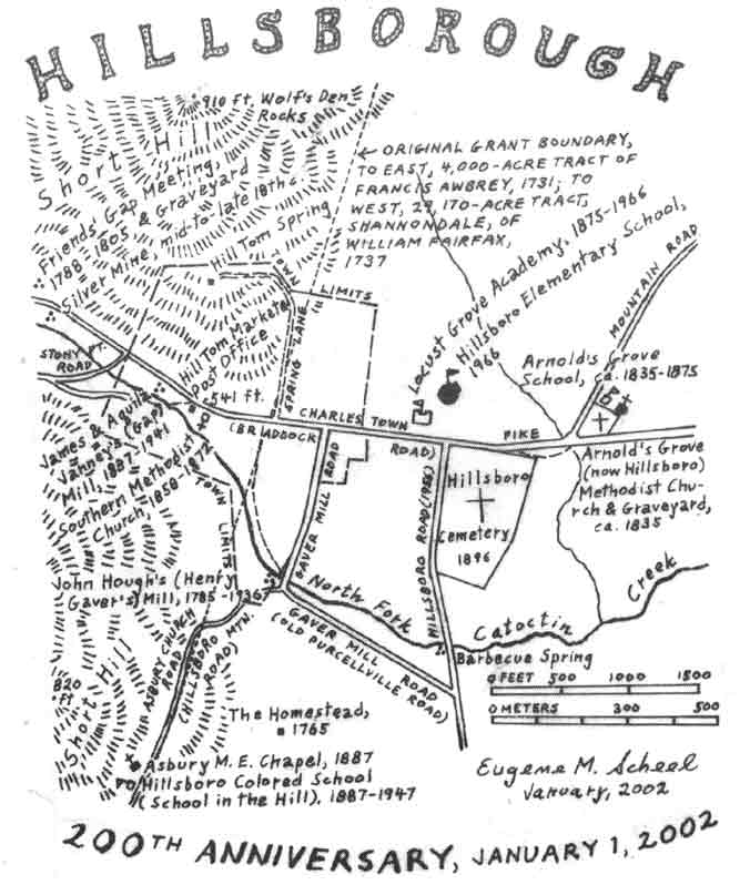 hillsboro-map – History of Loudoun County, Virginia