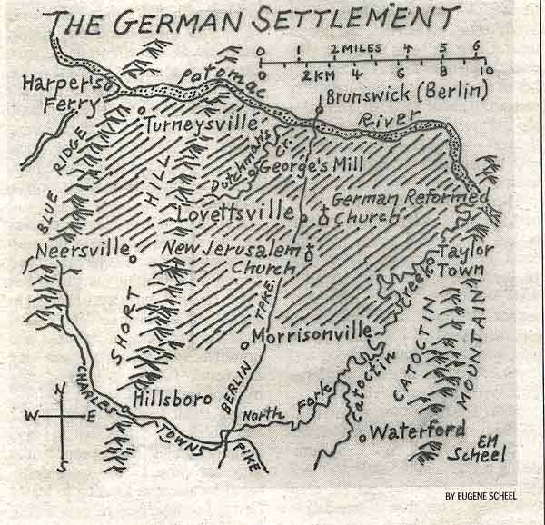 18th century german settlements in northwest loudoun county