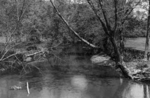 Catoctin Creek near Taylorstown VA. A 1974 photo by John Lewis