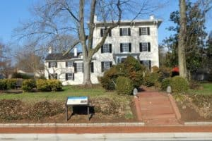 Harrison Hall on King Street in Leesburg Virginia