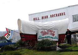 The Hill High Country Store is now Hill High Bakery & BBQ Company at 35246 Harry Byrd Highway, Round Hill.