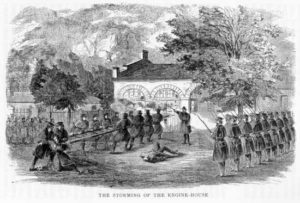 The Storming of the Engine House at Harper's Ferry 1859