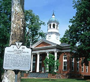 Loudoun County Courthouse, in Leesburg, VA