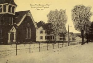 Lovettsville Virginia in 1915 (Lovettsville Historical Society)