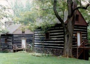 Slave quarters on Rosemont Farm, Waterford, VA