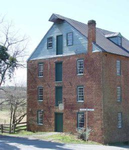 Old Waterford Mill in Waterford Virginia